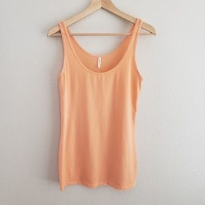 Splendid Layers Peach Tank Top